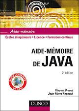 Aide-mémoire de Java - 2ème édition - NEUF