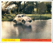 THE LOVE BUG WALT DISNEY ORIGINAL LOBBY CARD VW BEETLE ON LAKE