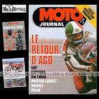 MOTO JOURNAL N°320 CHIMAY HUBERT RITTBERGER STEFAN DORFLINGER GUZZI 254 1977