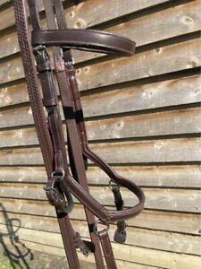 Havana Full Size Rambo Micklem Bridle
