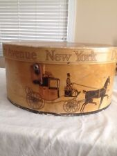 Vintage Dobbs Fifth Avenue Hat Box New York
