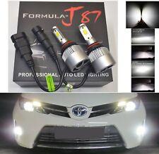LED Kit N2 72W 9005 HB3 6000K White Two Bulbs Head Light High Beam Fan Replace