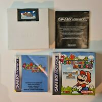 Super Mario Advance boxed with manual Nintendo Game Boy Advance VGC
