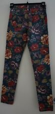 MINKPINK STRAIGHT LENGTH FLORAL JEANS SIZE SMALL RETRO