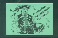 Switzerland 1985 10 Fr  Booklet