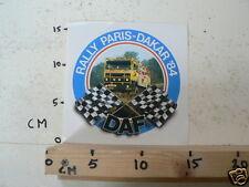 STICKER,DECALS DAF SET 6A 8 PARIS-DAKAR DAF TRUCK STICKERS 1984-1988