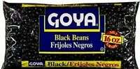Pack Of 3 Goya Black Beans Frijoles Negros 16 Oz. (3 Pack) - Free Shipping