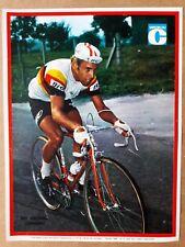 cyclisme tour de France miroir du cyclisme poster vintage années 60 WOLFSHOHL