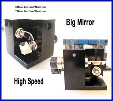Rgb Laser Show Scanner With Large Mirrors 28k Pps High Speed Galvo Scanner