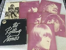 THE ROLLING STONES 1963-1970 6 LP BOX SET ERROR 1980 AUSTRALIAN RELEASE