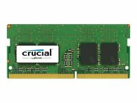 Crucial 8GB DDR4 2400 MHz PC4-19200 SODIMM 260-Pin Laptop Memory SR