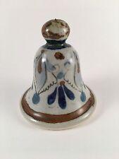 Vintage Ken Edwards bell pottery signed KE Mexico