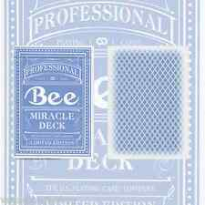 Magic 8 Blue Bee Deck Playing Cards Poker Size USPCC Custom Limited New Sealed