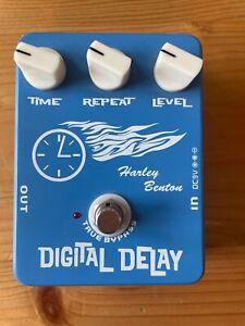 Harley Benton Digital Delay - Gitarren Effekt Pedal