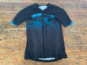 Louis Garneau Course M-2 Tri Jersey Size Men's L Black Clouds