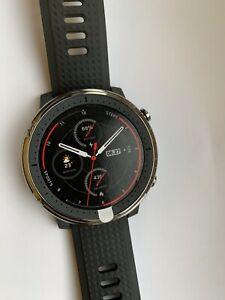 Amazfit Advanced Sports Smartwatch Stratos 3 Black fast delivery