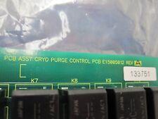 VARIAN E15005012 CRYO PURGE CONTROL PCB REV-A