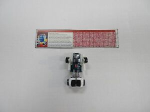 1986 G1 TRANSFORMERS TAILGATE MINI-CAR 100% COMPLETE ROBOT W/ TECH SPECS