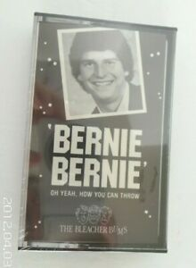 Bernie Bernie Bleacher Bums Cleveland Browns cassette sealed