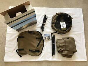 USMC/Army Catoma Enhanced Bed Net Sys. Comp.w/Tent,pole,stakes &rain Fly New