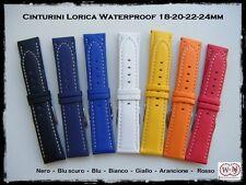 Cinturini Lorica waterproof; misure: 18-20-22-24mm