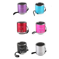Portable Micro SD TF USB Mini Stereo Speaker Music Player FM Radio PC MP3 MP4