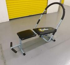Confidence USA Sit Up Bench With Abs Hoop Home Exercise Equipment