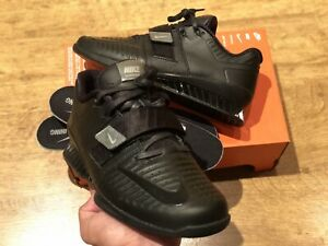NIKE ROMALEOS 3 XD WEIGHTLIFTING TRAINERS SIZE UK10.5 EUR45.5  BLACK AO7987 001