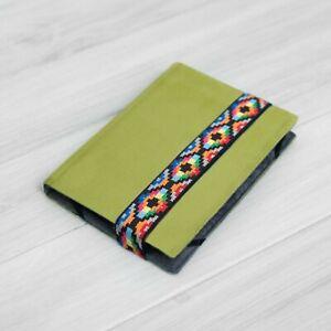 Green Velvet Case Cover Book Kobo Nia Aura Glo Clara HD H2O Padded Lightweight