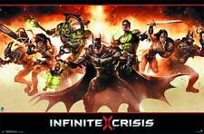Infinite Crisis Group Poster NEW SEALED