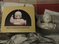 Precious Moments Have a Heavenly Christmas ornament with box