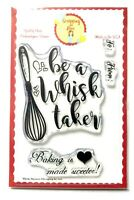 WHISKY BUSINESS Cooking Clear Stamp Set - Scrapbook Stamping Cardmaking Crafts