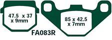 EBC balatas fa083r eje trasero encaja en MZ/MUZ VRS 150 quad 05