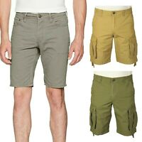 Jack & Jones Mens Shorts Summer Smart Cargo Combat Chino Cotton Half Pants