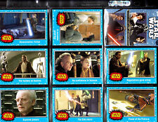 Star Wars The Force Awakens Mini Master card set