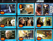 Jourey  To Star Wars The Force Awakens Mini Master Base card set +Wrapper +++