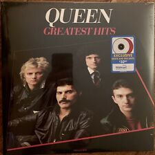 Queen Greatest Hits Double LP Walmart Exclusive Red White Vinyl Records NEW
