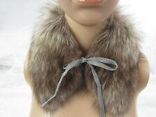 Isabella-Italia Fox Fur Collar NWT Retail $225