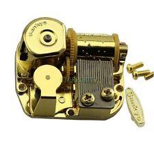GOLD Wind Up Musical Movements Parts DIY Music Box  : Elfen Lied - Lilium