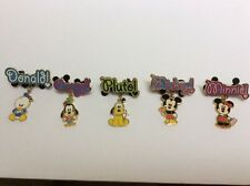 Disney Official Trading Pin Dangle Series 2007 mickey Minnie Donald Duck Pluto