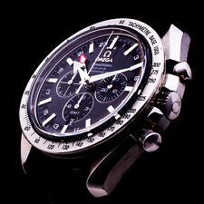 OMEGA SPEEDMASTER BROAD ARROW GMT CHRONOGRAPH CO-AXIAL AUTOMATIC DATE NP: 8000Eu