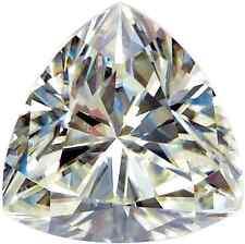 MOISSANITE 4x4mm 0.18ct Trillion Cut Loose Genuine Moissanite Gemstone