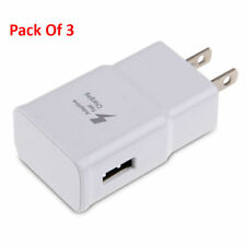 3x OEM SPEC Adaptive Fast Charge USB Wall Adapter Power Charger Quick 1.67A / 9V