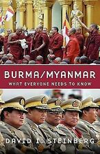 Burma/Myanmar: What Everyone Needs to Know-ExLibrary