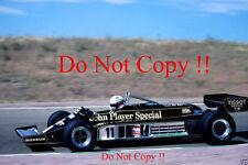 Elio de Angelis JPS Lotus 87 español Grand Prix 1981 fotografía