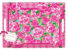 NWT LILLY PULITZER ~ MELAMINE SERVING TRAY/PLATTER ~ FIRST IMPRESSION FLOWERS