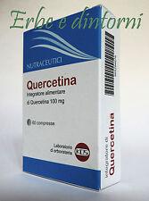 QUERCETINA  60 compresse - Allergie, infiammazioni prostata, antiossidante