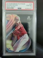Shohei Ohtani 2018 Bowman Platinum #34 PSA 10 GEM MINT ANGELS ROOKIE RC INVEST
