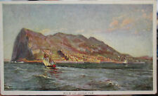 c1905-10 Rock of Gibraltar Prudential Insurance complimentary adv postcard