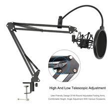 Mic Desktop Microphone Suspension Stand Studio Broadcast Boom Scissor Arm Holder